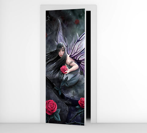 Rose Fairy - Door Mural