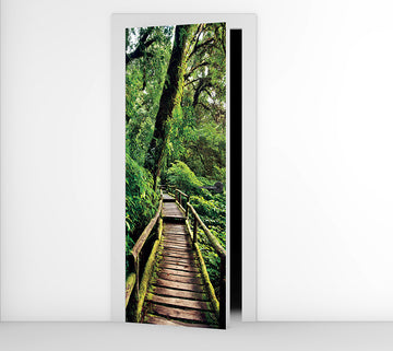 Rainforest - Door Mural