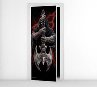 Rock God - Door Mural