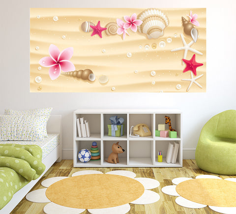 Sea Shells - Half Wall Mural