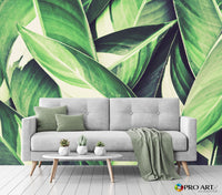 Spring Leaves- Full Wall Mural