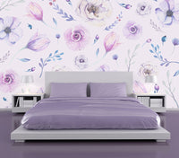 Shades of Purple - Full Wall Mural