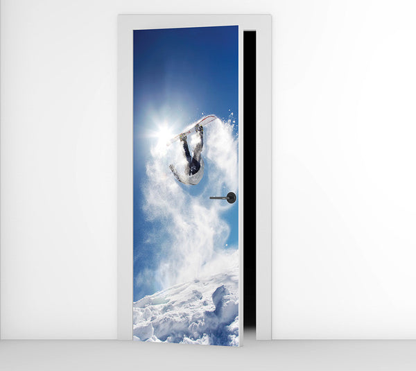 Serious Snow - Door Mural