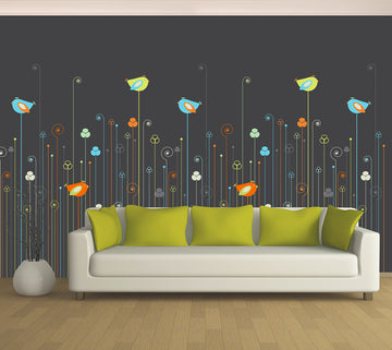 Sweet Birdie - Full Wall Mural