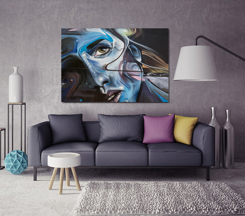 She Wonders - Metal Prints