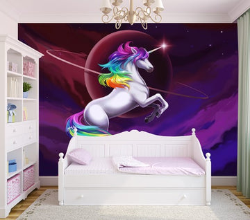 The last rainbow Unicorn - Full Wall Mural