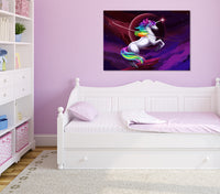 The last rainbow Unicorn - Acrylic Print