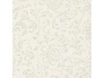 Delicate Scroll Textures & Prints Wallpaper