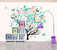 Tree Colours - Full Wall Mural