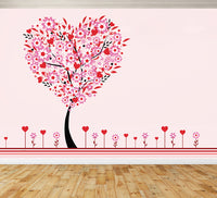 Tree of  Hearts - Full Wall Mural