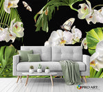Tropical Orchid - Full Wall Mural