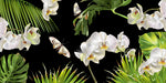 Tropical Orchid - Half Wall Mural