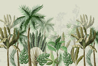 Tropic Feel - Full Wall Mural