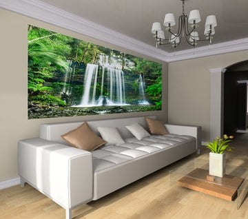 Tranquility - Half Wall Mural