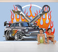 V8 Muscle - Full Wall Mural