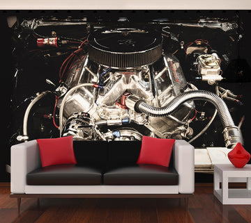 V8 Power - Full Wall Mural