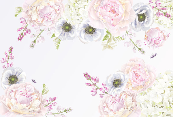 Vintage Floral - Full Wall Mural
