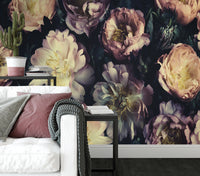 Vintage Bouquet - Full Wall Mural