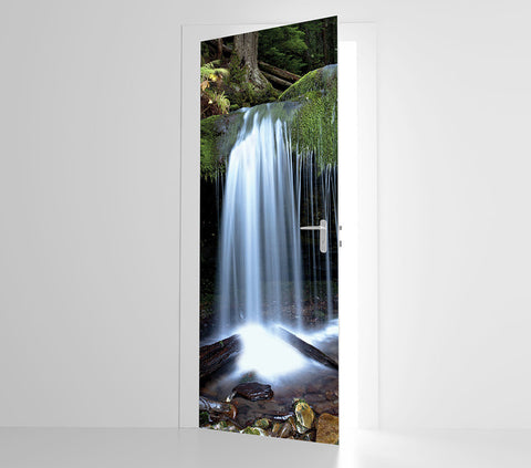 Waterfall - Door Mural