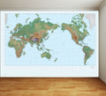 World Map - Full Wall Mural