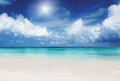 White Sandy Beach - Full Wall Mural