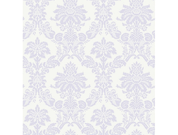 Damask Purple Playdate Adventure Wallpaper