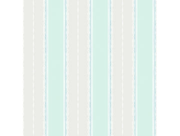 Frills Stripe Green Playdate Adventure Wallpaper