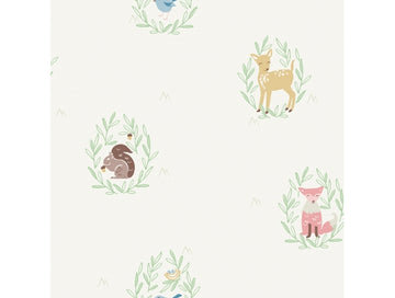 Furry Friends Baby Animals 001 Playdate Adventure Wallpaper