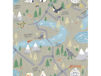 Campground Map Playdate Adventure Wallpaper