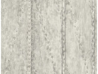 Rusted Stud Panels Grey Wallpaper