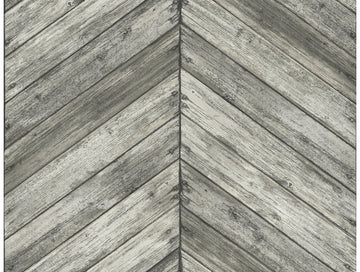 Chevron Wood Wallpaper