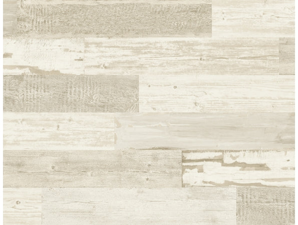 Distressed Wood Tile IR71505 Modern Foundation Wallpaper