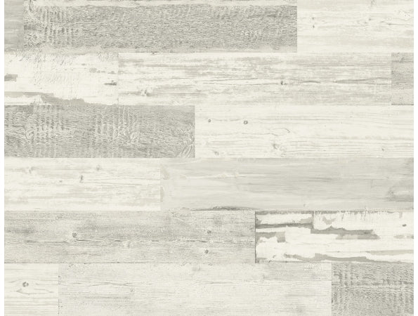 Distressed Wood Tile  IR71510 Modern Foundation Wallpaper
