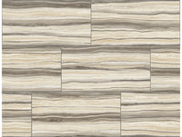 Pieced Marble Brown Modern Foundation Wallpaper