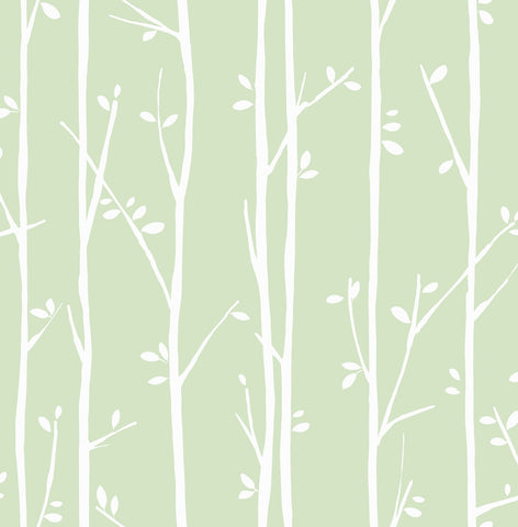 Twiggy Jelly Beans Wallpaper GREEN