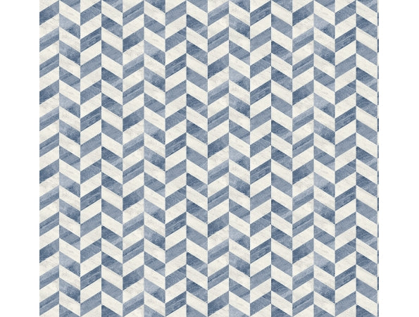 Distressed Chevron Suede Wallpaper