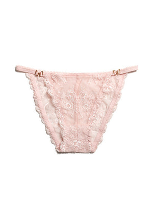 Mariposa Bikini Blush Panties By Wings Intimates