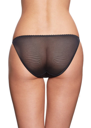 Pearly Eye Bikini Black Panties Underwear By Wings Intimates