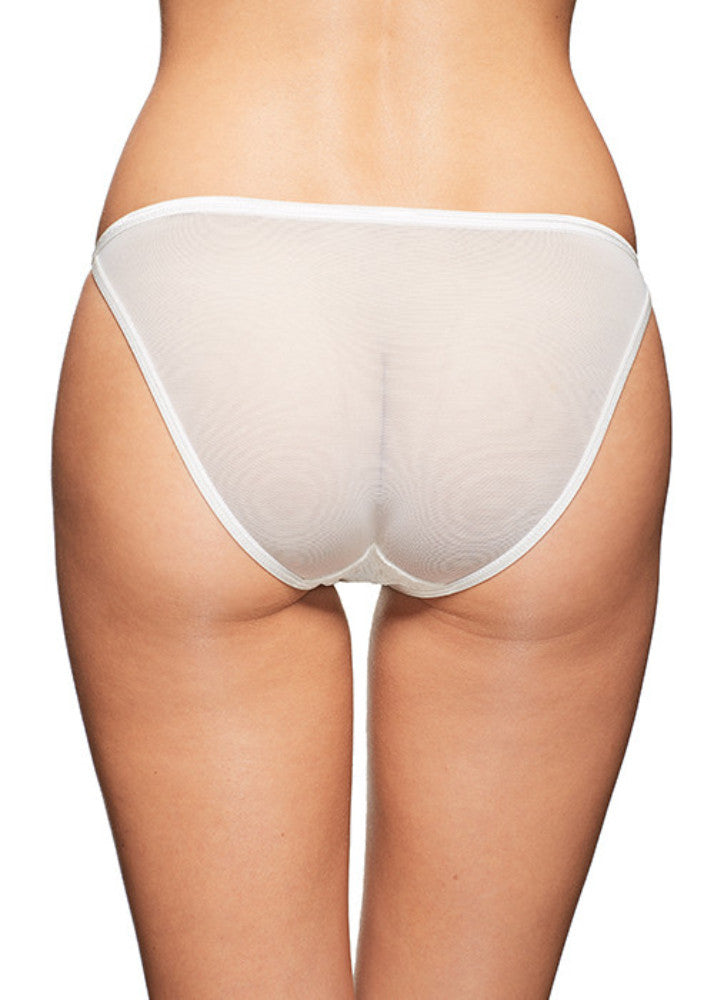 Pearly Eye Bikini White Panties Underwear By Wings Intimates