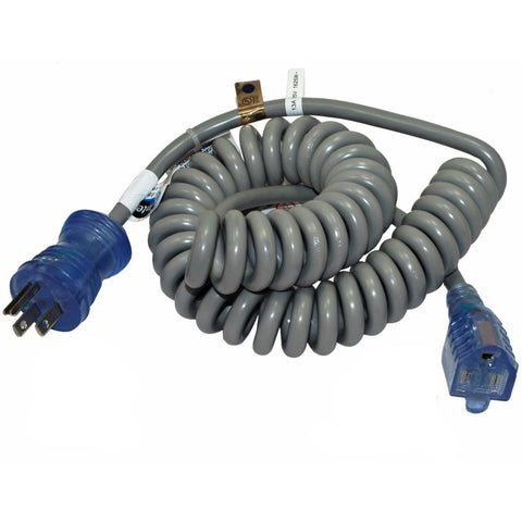Data-Carts Accessories 14' Coiled Power Cord