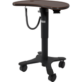 Lund Industries, Inc. Laminate Laptop Cart Crossfire Java Medium Kidney Cart