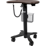 Lund Industries, Inc. Laptop Cart Large Kidney Shaped Cart