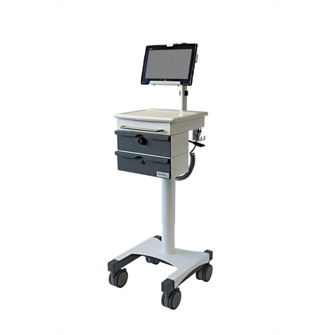 Lund Industries, Inc. Small Form Factor Yes SFF Cart with Tablet Mount