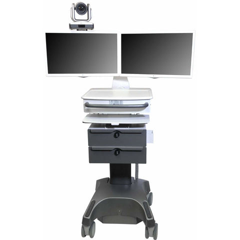 Lund Industries, Inc. Telehealth Powered Telehealth Cart