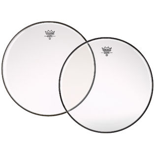 "Remo 12"" Diplomat Clear Drumhead"