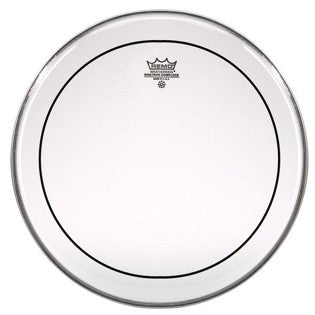"Remo 10"" Clear Pinstripe Crimplock Marching Drumhead"