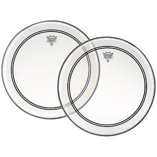 "Remo 10"" Clear Powerstroke 3 w/ Dot Drumhead"