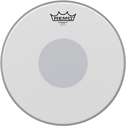 "Remo 12"" Coated Emperor w/ Black Dot Drumhead"
