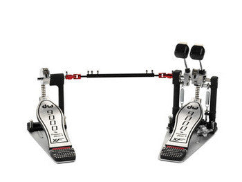 DW 9000 Series Double Bass Pedal - Extended Footboard