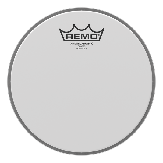 "Remo 10"" Ambassador X Coated Head"